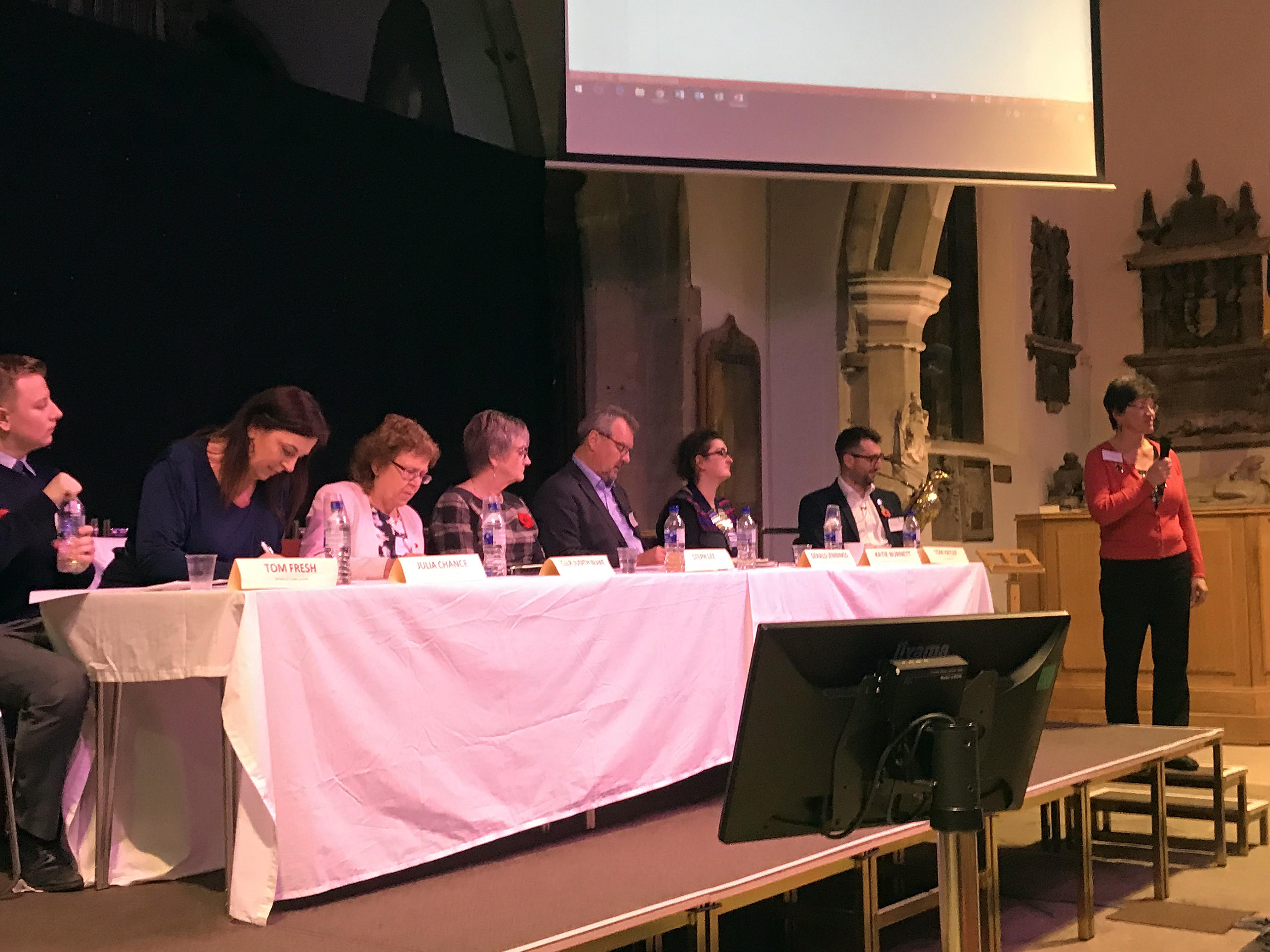 Otley Summit Panel, Otley Bid, West Yorkshire