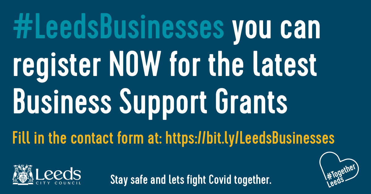 LEEDS BUSINESS SUPPORT GRANT