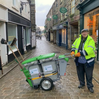 Keeping Otley Clean - Otley Bid