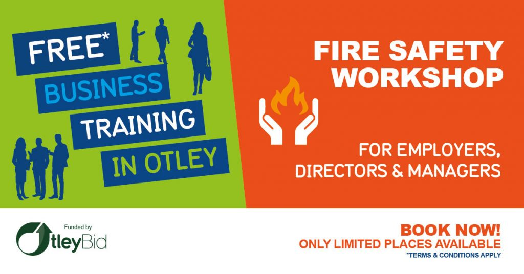 Otley BID Fire Safety Workshop