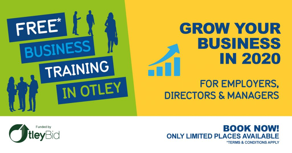 Otley Bid Grow Your Business Workshop
