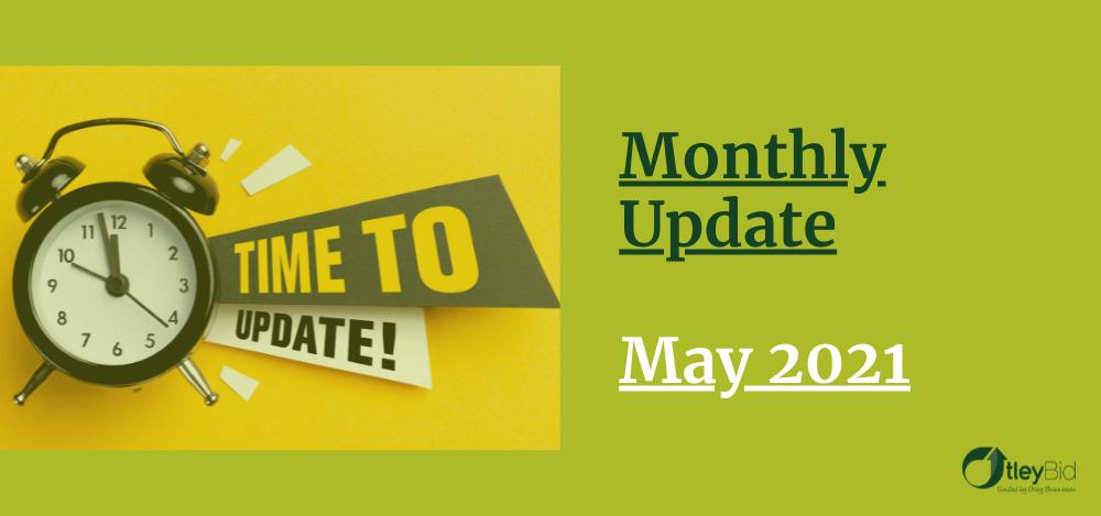 Monthly BID Update - May 2021