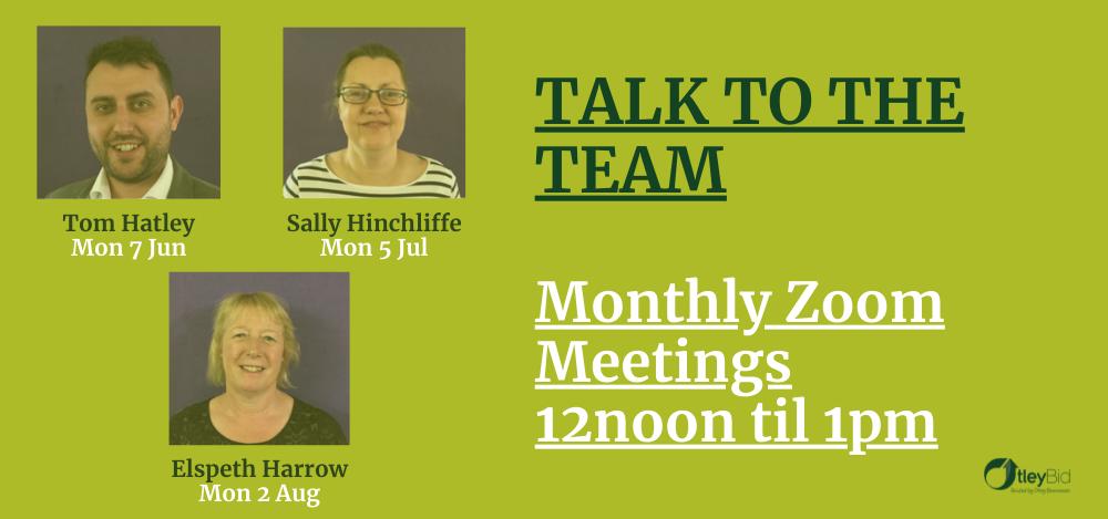 Otley BID Monthly Zoom Meetings